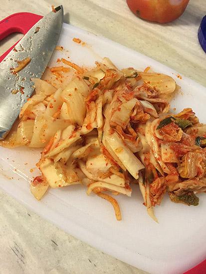 Kimchi Jjigae Step #2