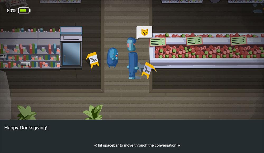 Ludum Dare 38 Dialog
