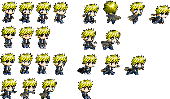 An example of online spritesheet