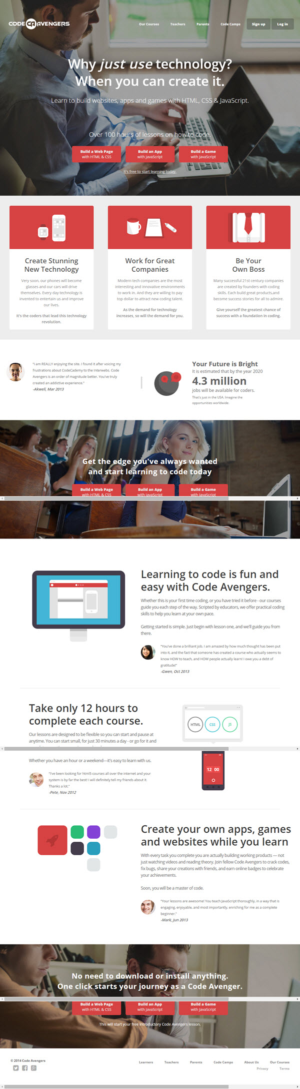 Designing your own Website - Assessment | Code Avengers