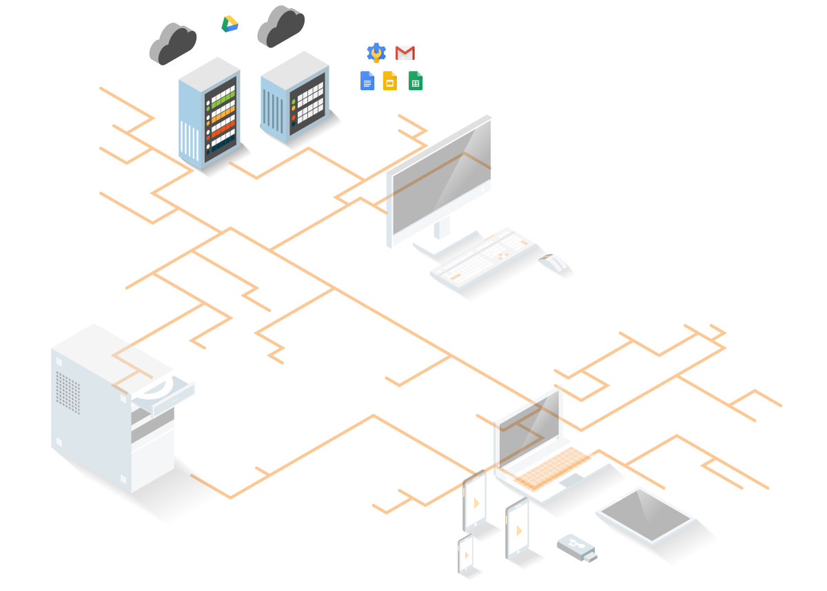 network management diagram