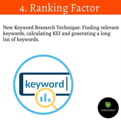 The New Keyword Research Technique