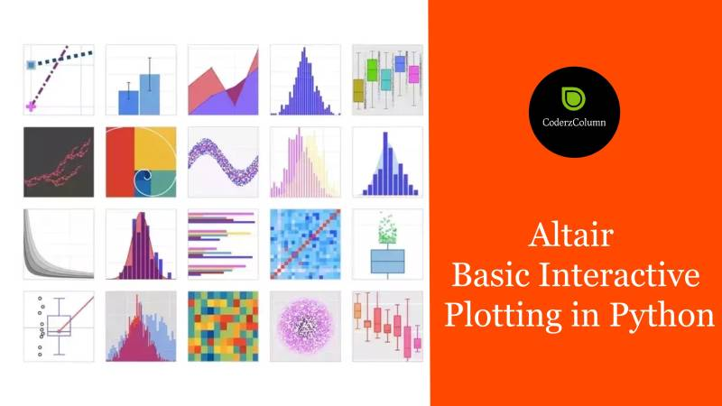 Altair - Basic Interactive Plotting in Python