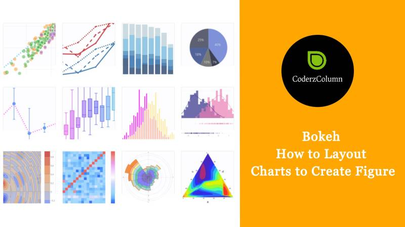Bokeh - How to Layout Charts to Create Figure