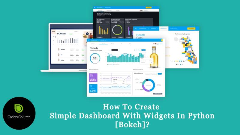 How to Create Simple Dashboard with Widgets in Python [Bokeh]?