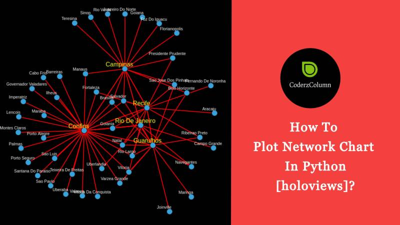How to Plot Network Charts in Python [Holoviews]?