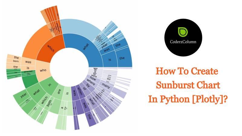 How to Create Sunburst Chart/Diagram in Python [Plotly]?