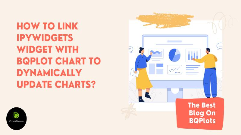 How to link ipywidgets widget with bqplot chart to dynamically update charts?