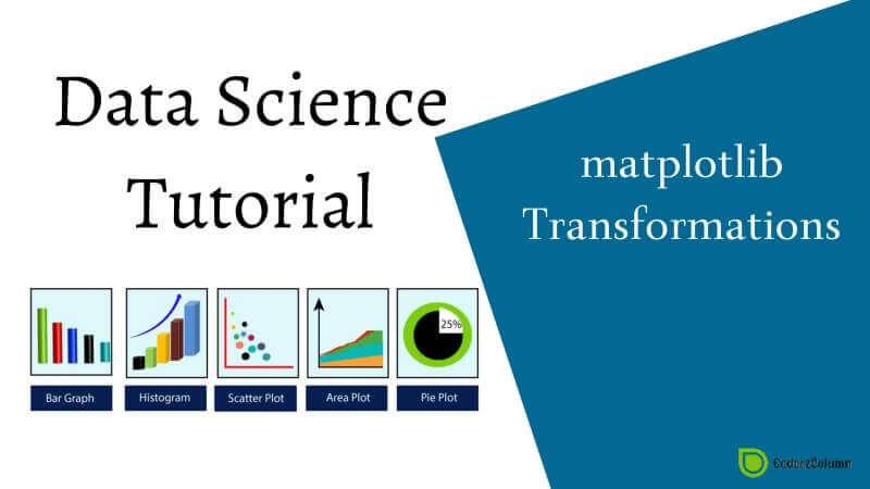 matplotlib - Transformations