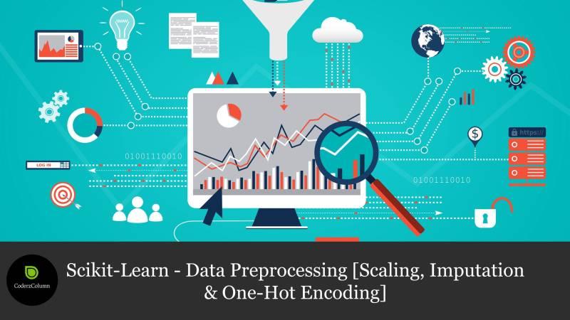 Scikit-Learn - Data Preprocessing [Scaling, Imputation & One-Hot Encoding]