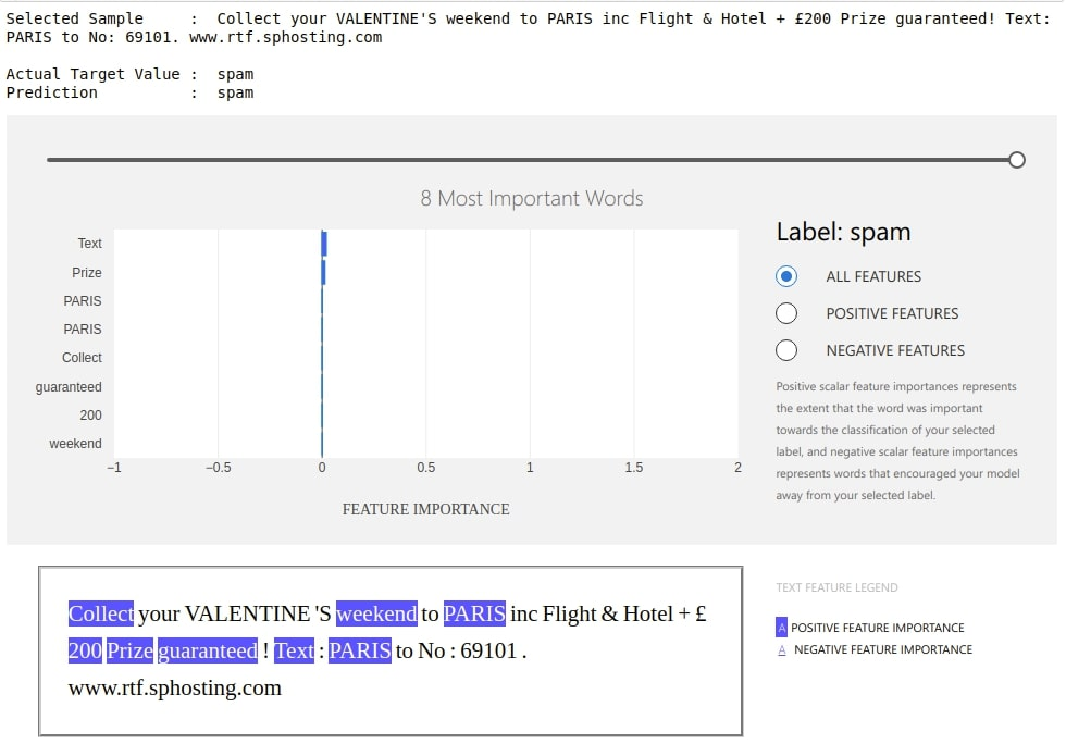 interpret-text - Interpret NLP Models and Their Predictions