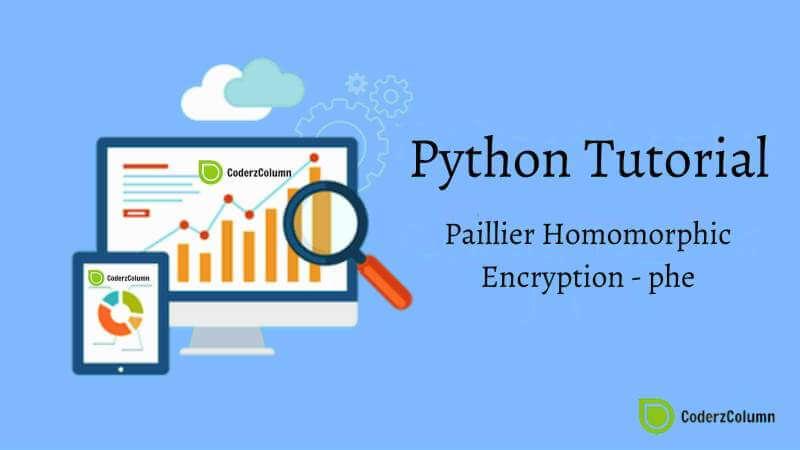 Paillier Homomorphic Encryption - phe