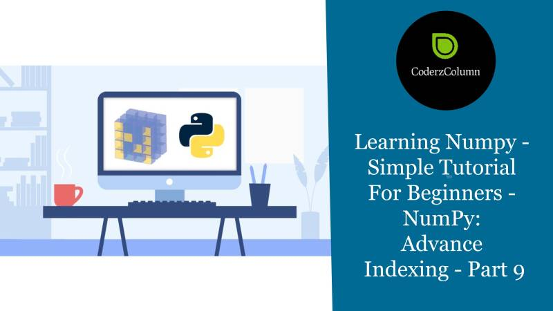 Learning Numpy - Simple Tutorial For Beginners - NumPy - Advance Indexing - Part 9