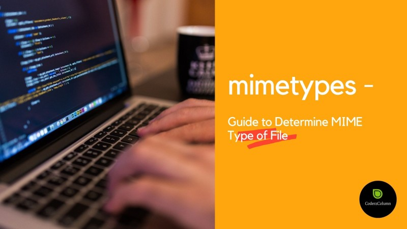 mimetypes - Guide to Determine MIME Type of File