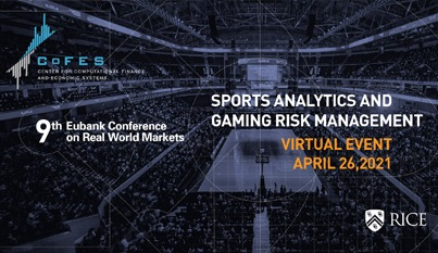Rice University lecture series showcases big data and its rise in sports and gambling
