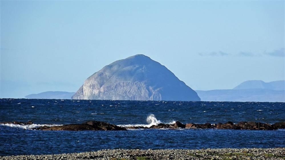 Ailsa Craig island