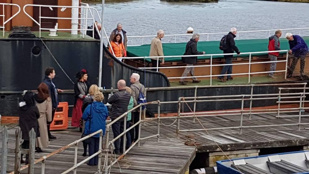 Group Visit to Vessel MV Kyles, Scottish Maritime Museum