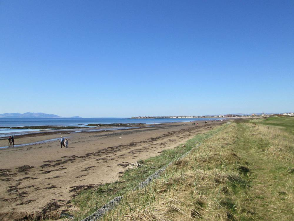 Troon Beach and dunes