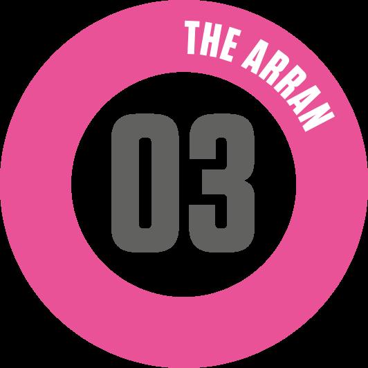 Arran Route Badge