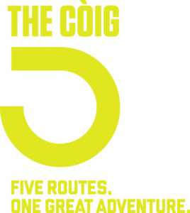 The Coig yellow logo