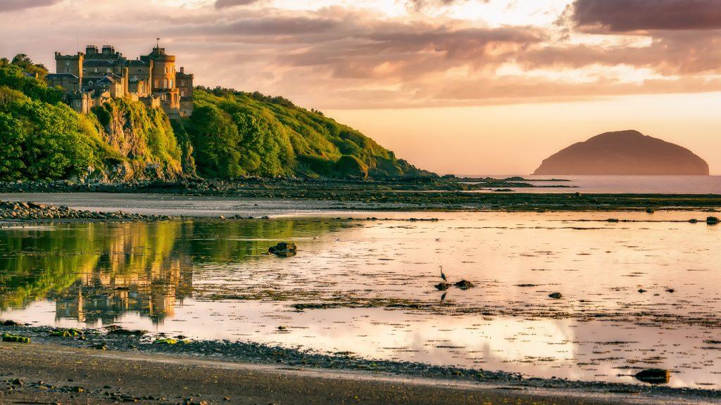 Culzean Castle Sunset