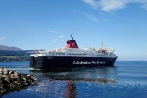 CalMac ferry Brodick