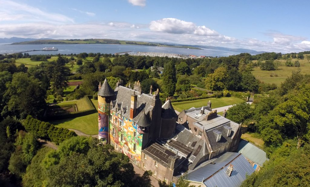 Kelburn Castle and Estate View