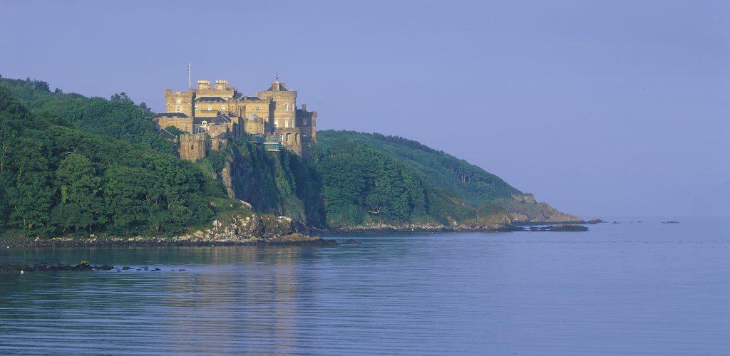 Culzean Castle Cliff View