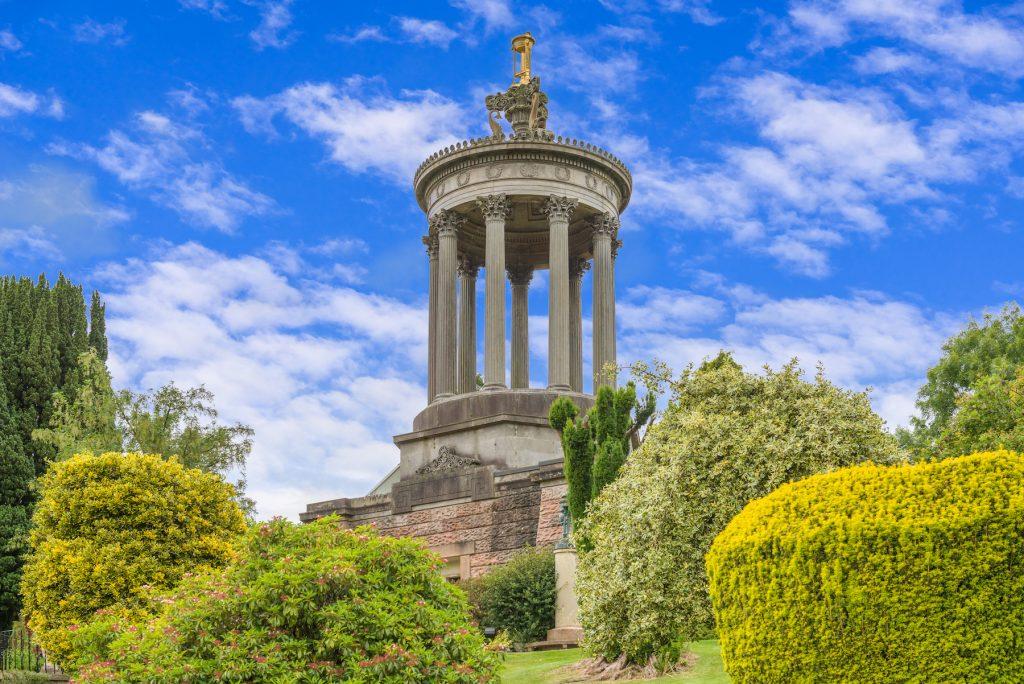 Burns Monument Alloway Ayr