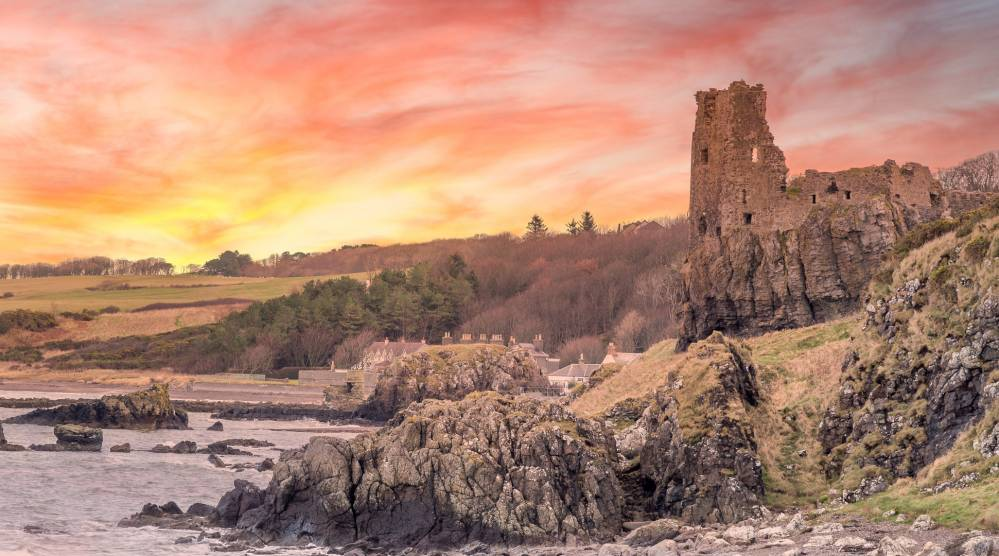 Dunure Castle, ©ShutterStock
