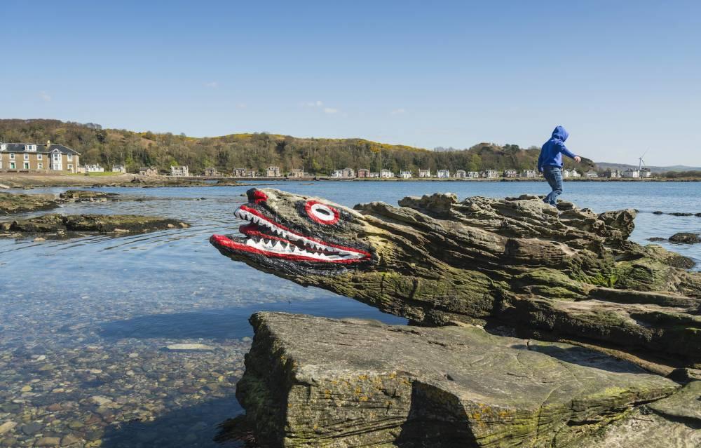 Crocodile Rock, Cumbrae, @visitscotland