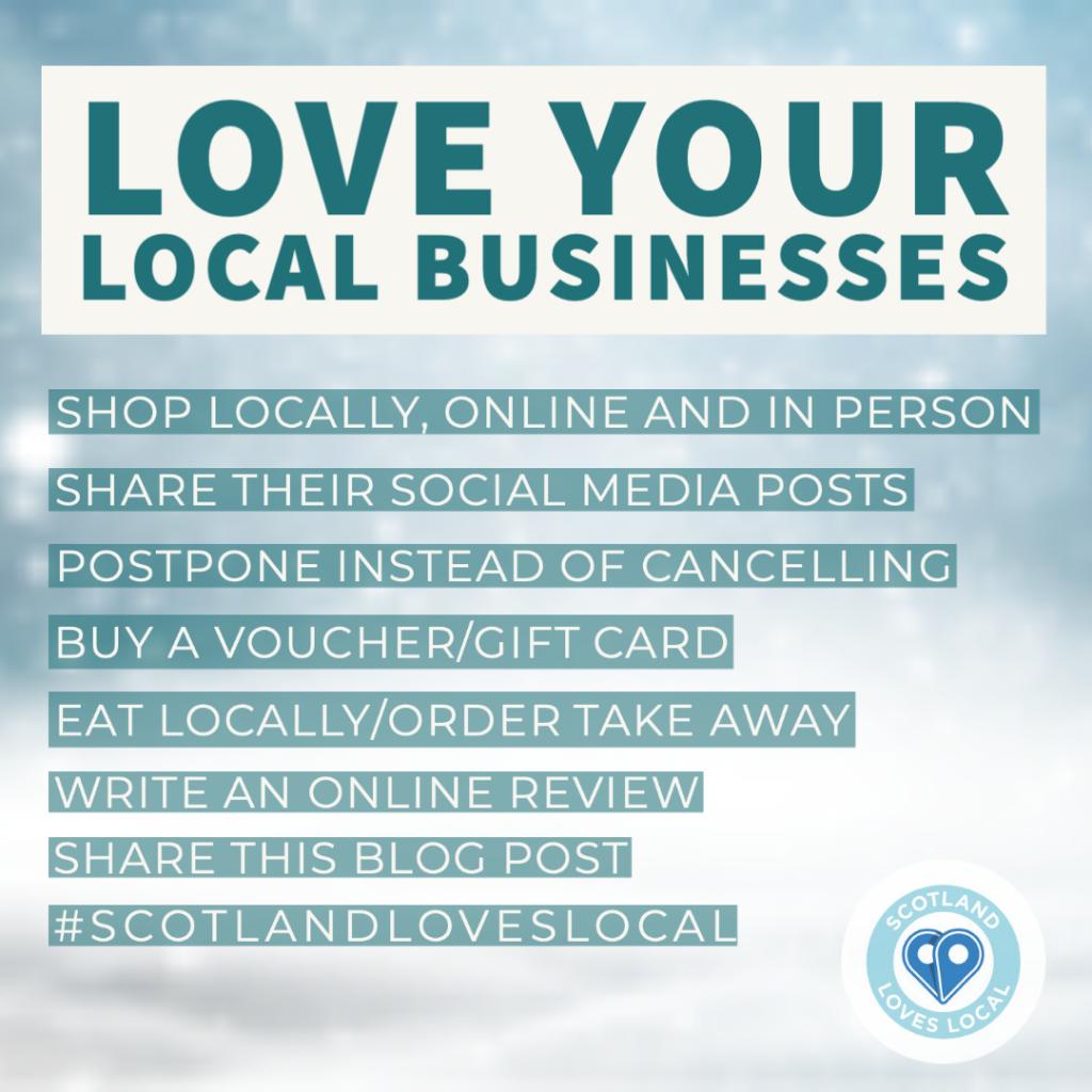 Love Local Business List