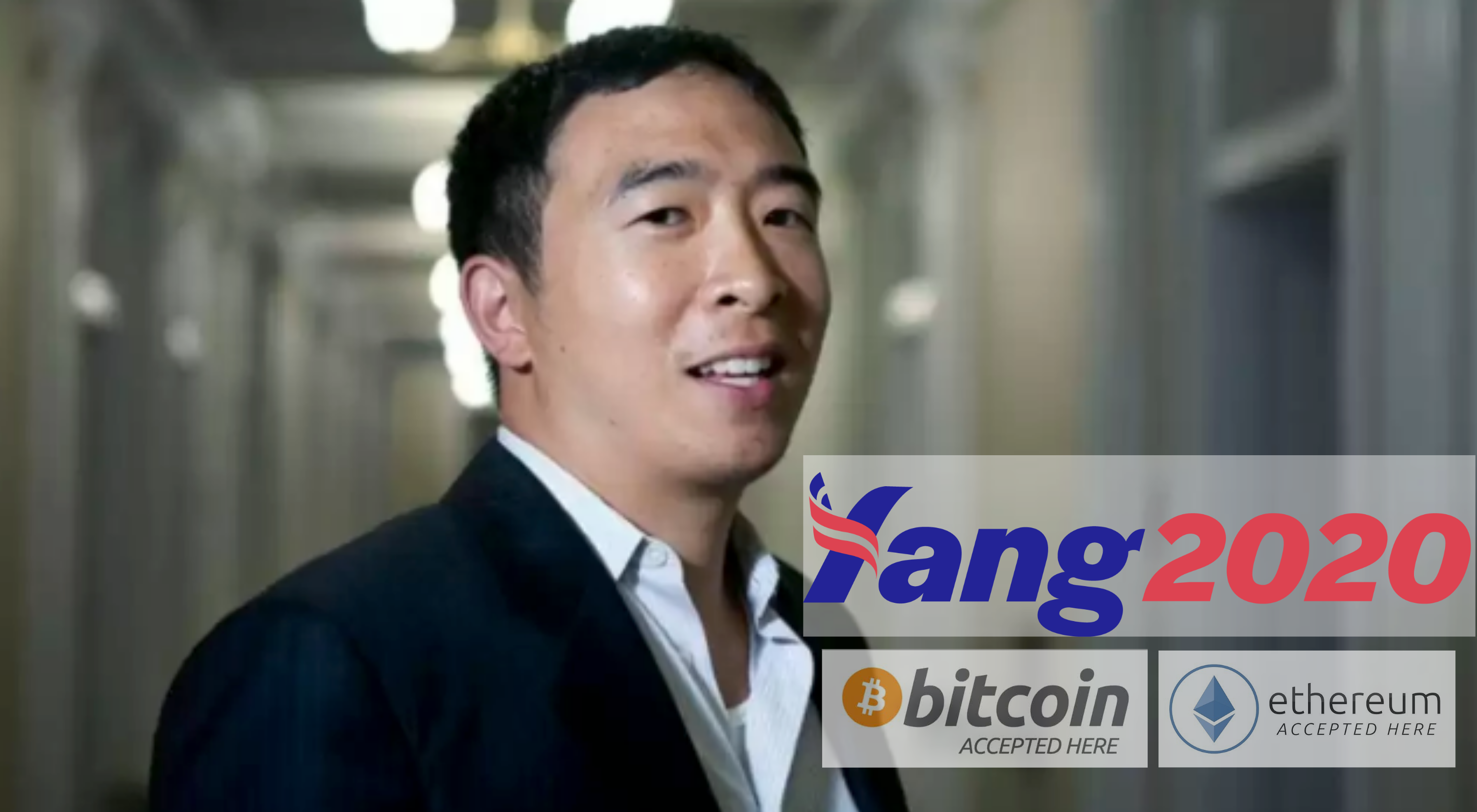 Andrew Yang Accepts Bitcoin for Campaign Donations