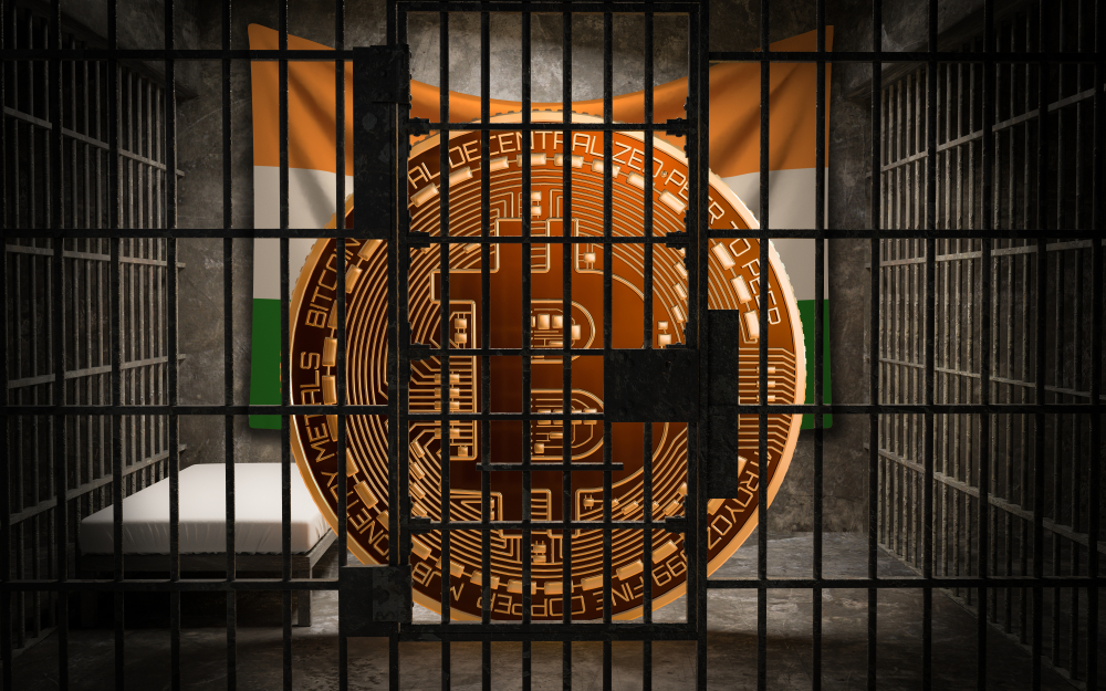 India: 10 Years in Jail for Bitcoiners