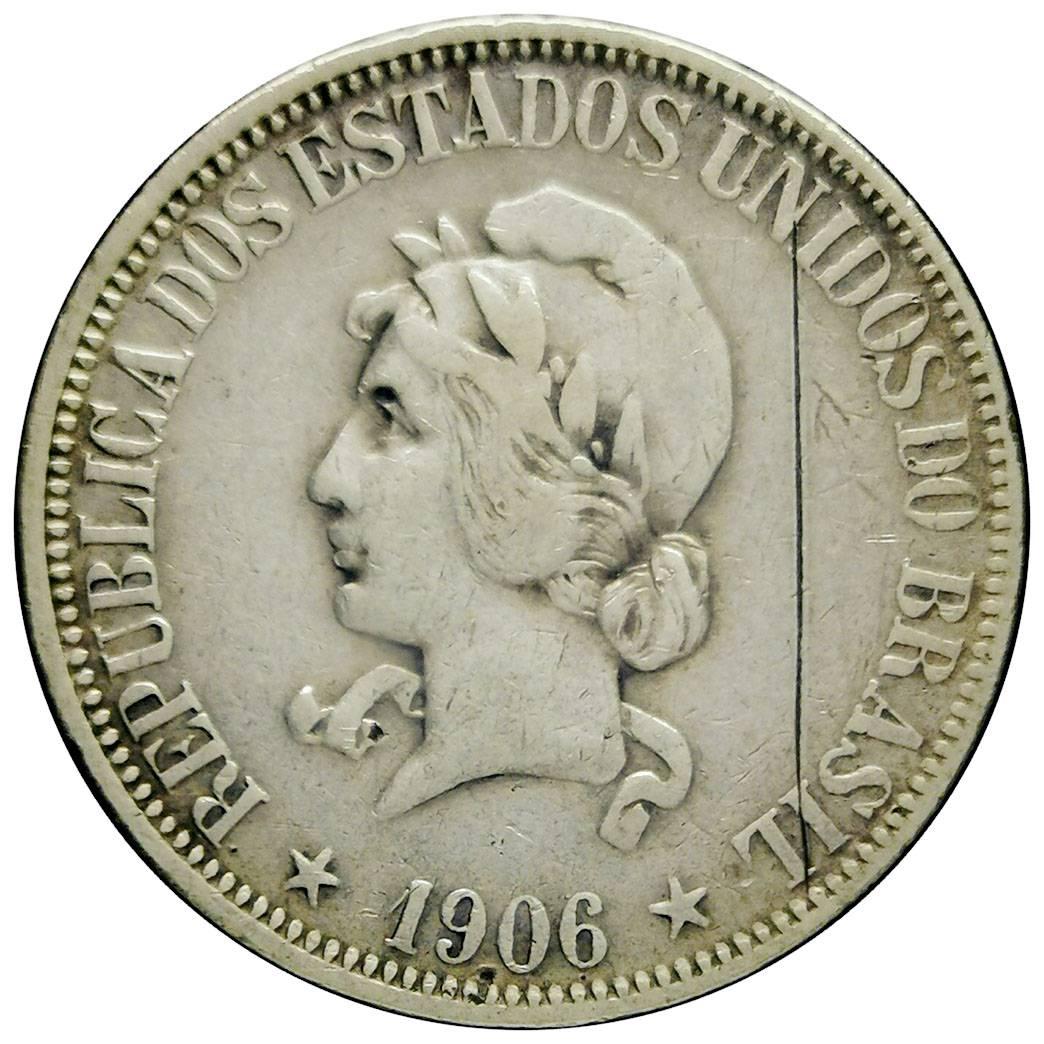 Coin 1000 Réis Brazil reverse