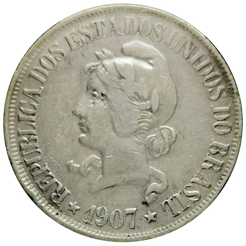 Coin 500 Réis Brazil reverse
