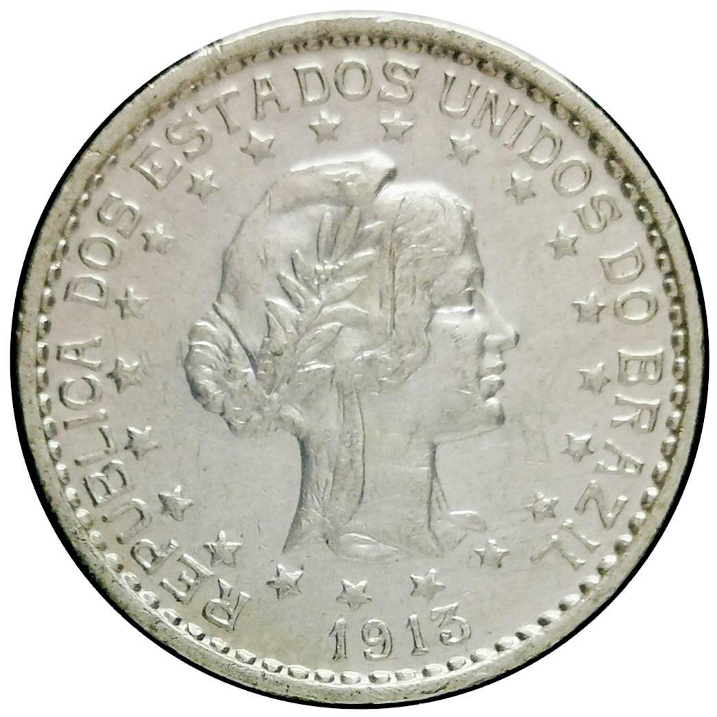 Coin 500 Réis (estrelas soltas) Brazil reverse