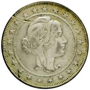 Coin 2000 Réis Brazil reverse