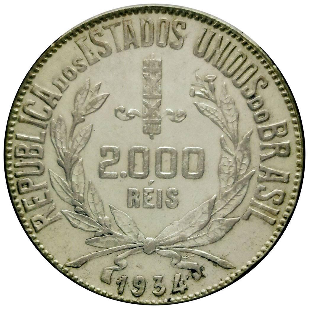 Coin 2000 Réis undefined obverse