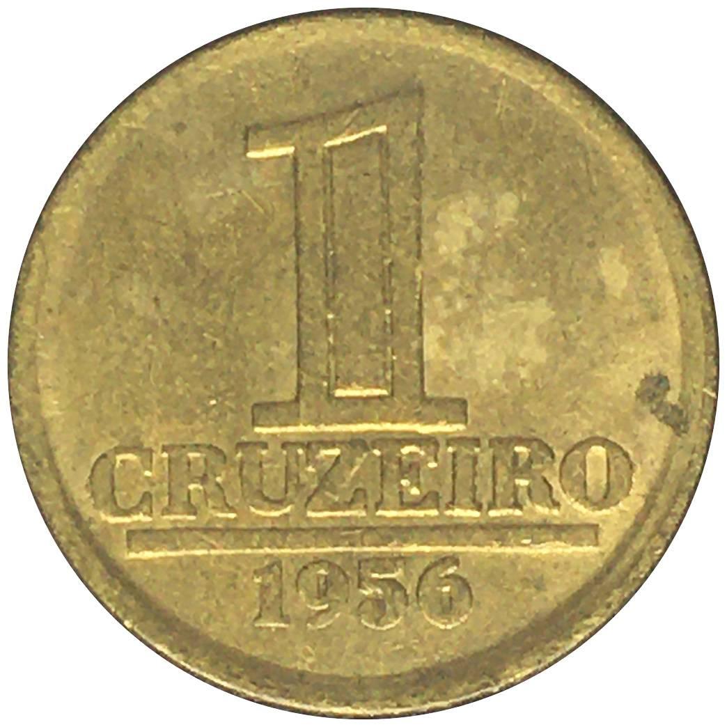 Coin 1 Cruzeiro Brazil obverse