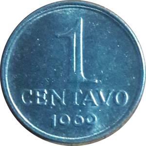 Coin 1 Centavo Brazil obverse