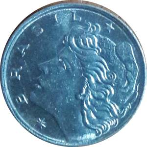Coin 1 Centavo Brazil reverse