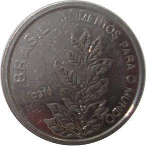 Coin V354 Moeda Brasil 5 Cruzeiros (FAO) 1985 Brazil obverse
