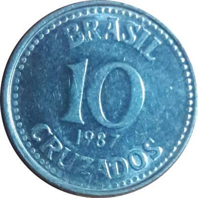 Coin 10 Cruzados undefined obverse