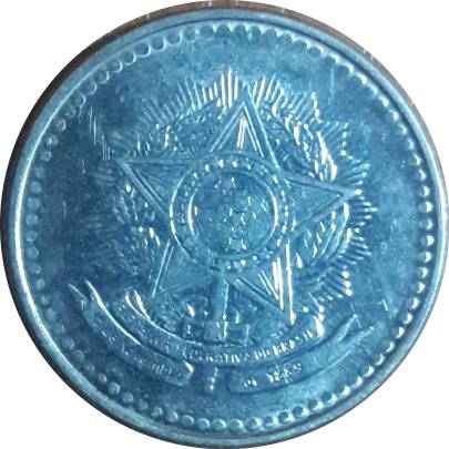 Coin 10 Cruzados undefined reverse