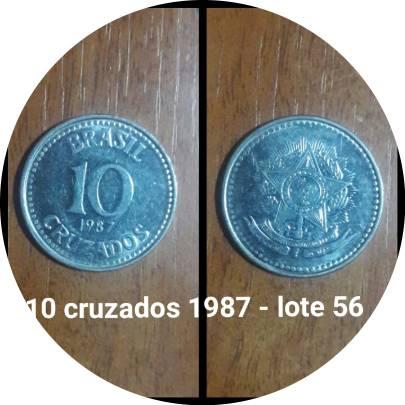 Coin 10 Cruzados undefined edge