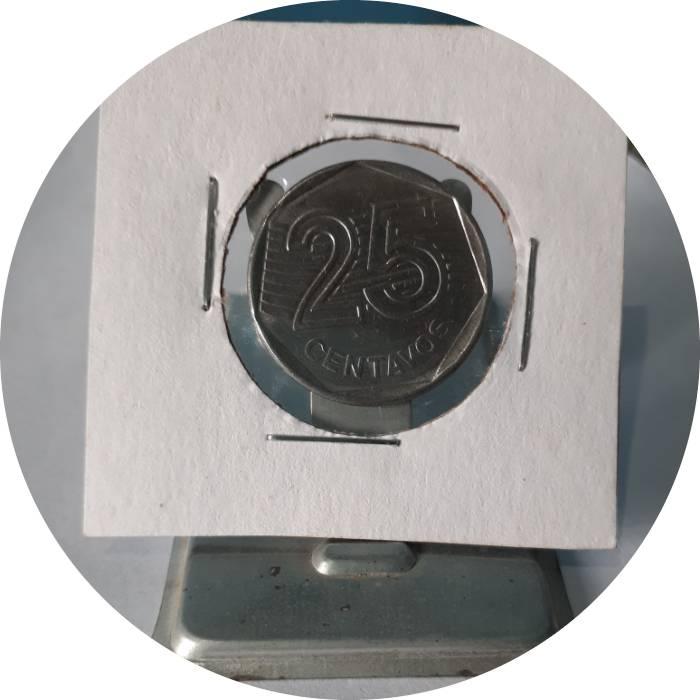 Coin 25 Centavos (FAO) Brazil obverse