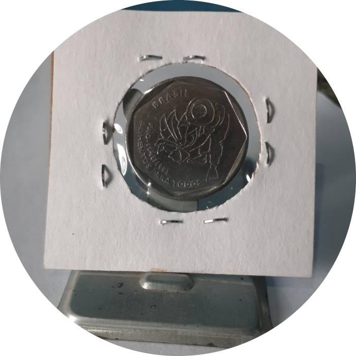 Coin 25 Centavos (FAO) Brazil reverse