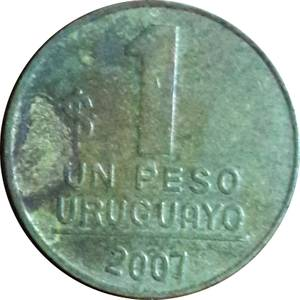 Coin 1 Peso Uruguayo Uruguay obverse