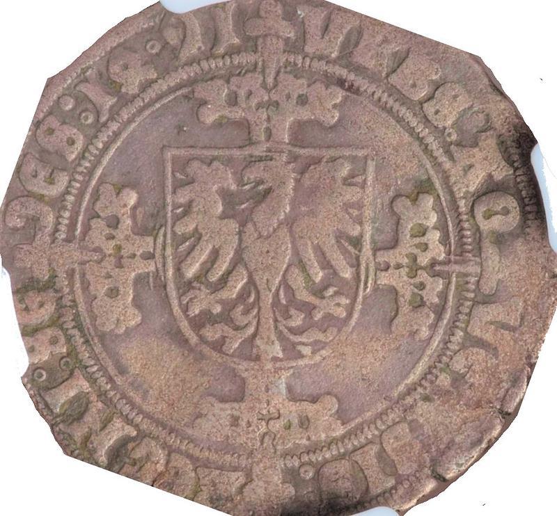 Coin 1 Mariengroschen Free imperial city of Aachen reverse